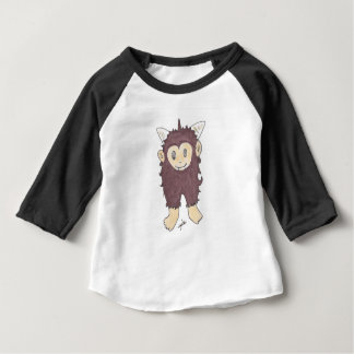 Camiseta Para Bebê sasquatch