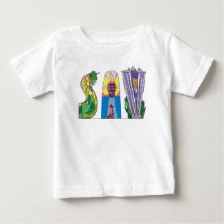 Camiseta Para Bebê SAVANA do T | do bebê, GA (SAV)