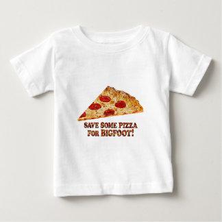 Camiseta Para Bebê Save_Pizza_for BIGFOOT - Multi-Roupa