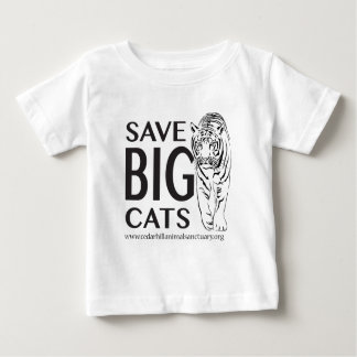 Camiseta Para Bebê SaveBigcats