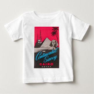 Camiseta Para Bebê Savoy continental o Cairo Egipto