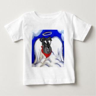 Camiseta Para Bebê Schnauzer