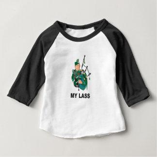 Camiseta Para Bebê scott com bagpipe