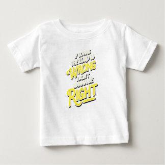 Camiseta Para Bebê Se amar o senhor é erro mim não queira ser