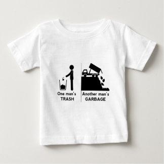 Camiseta Para Bebê Se equipa o lixo