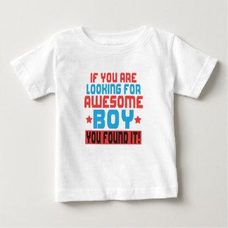 Camiseta Para Bebê Se você está procurando o menino impressionante,