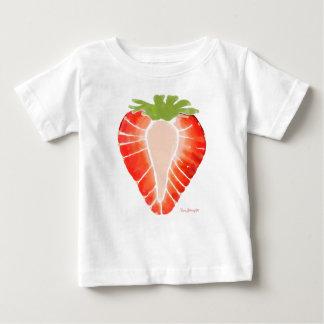 Camiseta Para Bebê Segredo da morango