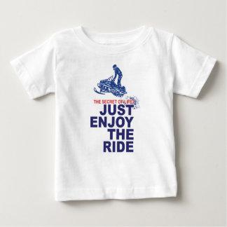 Camiseta Para Bebê Segredo--Vida