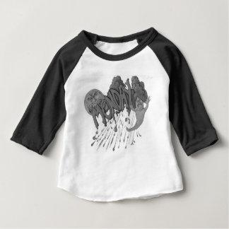 Camiseta Para Bebê Segunda-feira