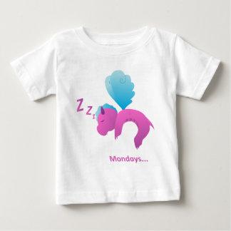 Camiseta Para Bebê Segundas-feiras… Spiffy o dragão