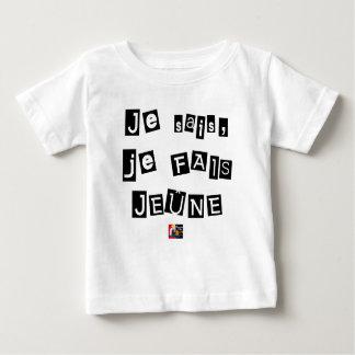 Camiseta Para Bebê Sei, mim FAIS JEJUA - Jogos de Palavras