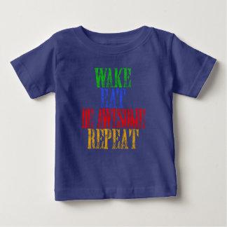 Camiseta Para Bebê Seja impressionante!