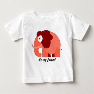 Camiseta Para Bebê Seja meu tshirt do amigo para miúdos