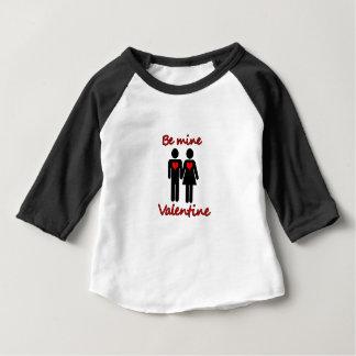 Camiseta Para Bebê Seja namorados da mina