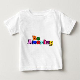 Camiseta Para Bebê Seja surpreendente