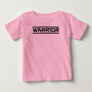 Camiseta Para Bebê Seja um guerreiro