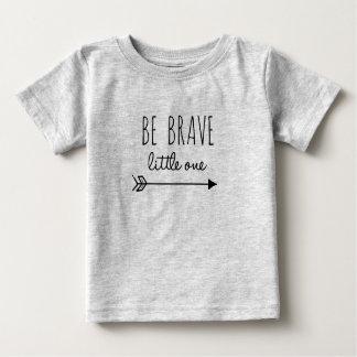 Camiseta Para Bebê Seja um T pequeno bravo
