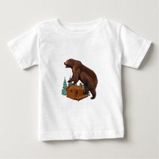 Camiseta Para Bebê Selvagem amigável