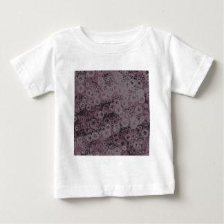 Camiseta Para Bebê Sem emenda roxo