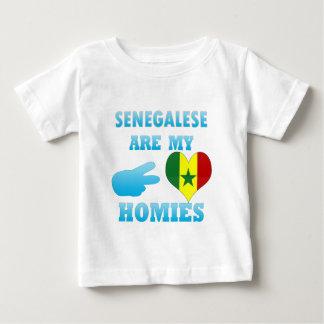 Camiseta Para Bebê Senegaleses são meu Homies