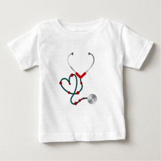 Camiseta Para Bebê Senhora Desinsetar Estetoscópio Nutrição doutor