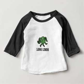 Camiseta Para Bebê senhora longa dos membros