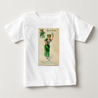 Camiseta Para Bebê Senhora original do dia de patrick de santo no