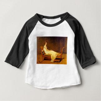 Camiseta Para Bebê Senhora Recamier Pintura