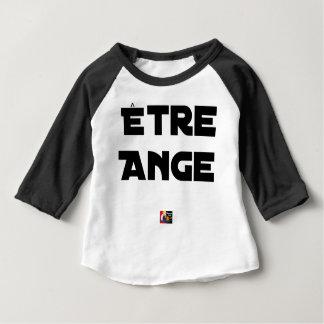 Camiseta Para Bebê SER ANJO - Jogos de palavras - François Cidade