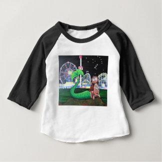 Camiseta Para Bebê Sereia de Coney Island