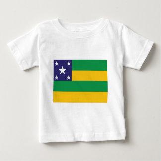 Camiseta Para Bebê Sergipe