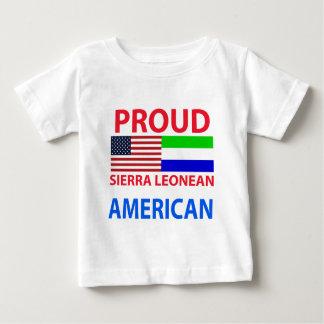 Camiseta Para Bebê Serra orgulhosa americano de Leonean