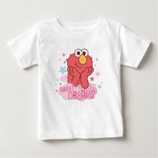 Camiseta Para Bebê Sesame Street | Elmo - sonhos doces