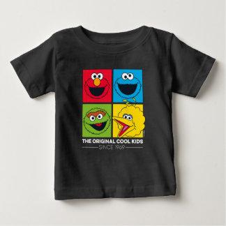 Camiseta Para Bebê Sesame Street | os miúdos legal originais