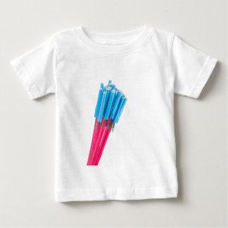Camiseta Para Bebê Setas do fogo do grupo para a véspera de ano novo