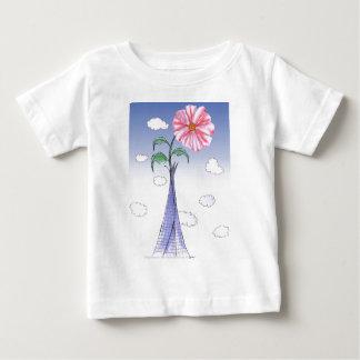 Camiseta Para Bebê ShardArt flower power por Tony Fernandes