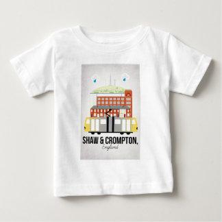 Camiseta Para Bebê Shaw e Crompton
