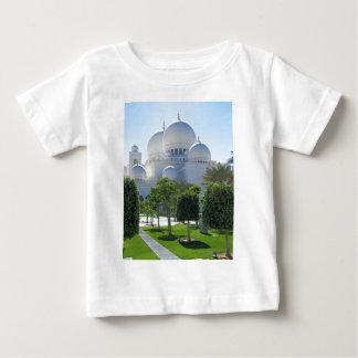 Camiseta Para Bebê Sheikh Zayed Grande Mesquita Abóbada