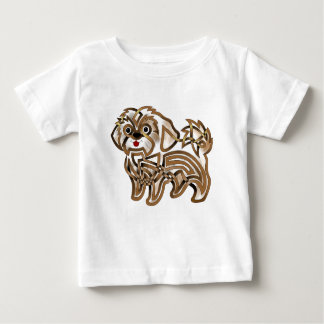 Camiseta Para Bebê Shi-tzu