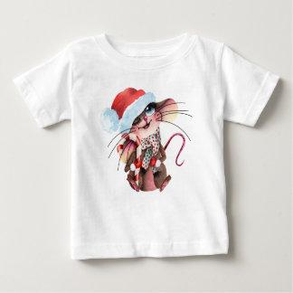 Camiseta Para Bebê Shirt doces para Weihnachtsmäuse