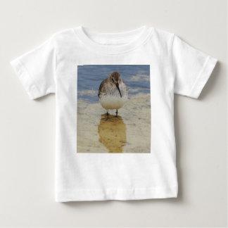 Camiseta Para Bebê Shorebird novo curioso que explora