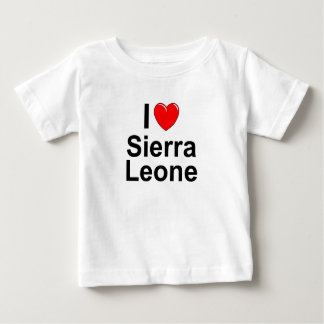 Camiseta Para Bebê Sierra Leone