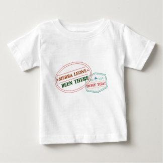 Camiseta Para Bebê Sierra Leone feito lá isso