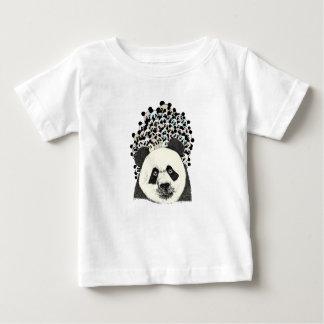 Camiseta Para Bebê Siga a panda