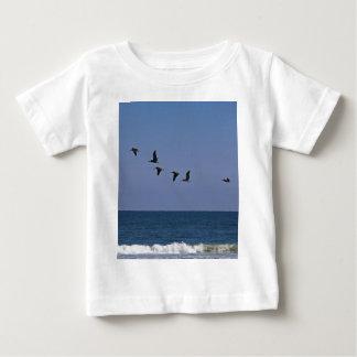 Camiseta Para Bebê Siga o líder