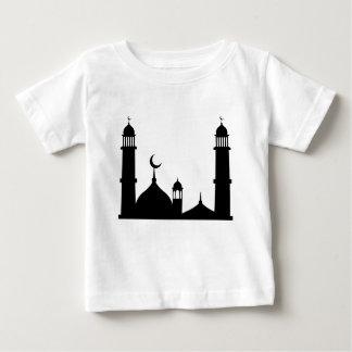 Camiseta Para Bebê Silhueta da mesquita