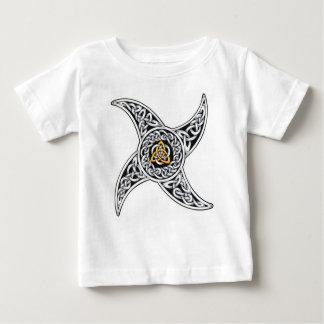 Camiseta Para Bebê símbolo dos céltico-guerreiros