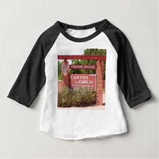 Camiseta Para Bebê Sinal Center de Garganta de Chelly Visitante,