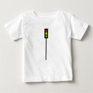 Camiseta Para Bebê Sinal de trânsito temperamental em Pólo