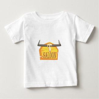 Camiseta Para Bebê Sinal do bar com o desenho da cabeça inoperante
